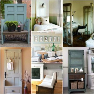 18 Ways To Give Old Doors New Life
