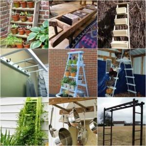 18 Ways To Repurpose Ladders Around The Homestead