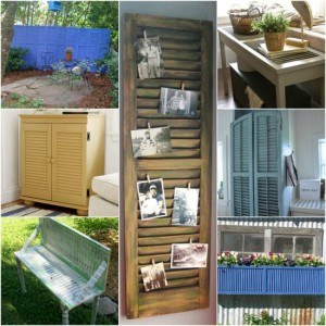 18 DIY Ways To Repurpose Shutters On Your Homestead