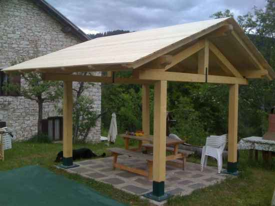12 diy backyard gazebo designs and ideas for Gazebo cost to build