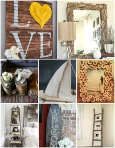 18 DIY Wooden Decorations To Make Your Home More Inviting