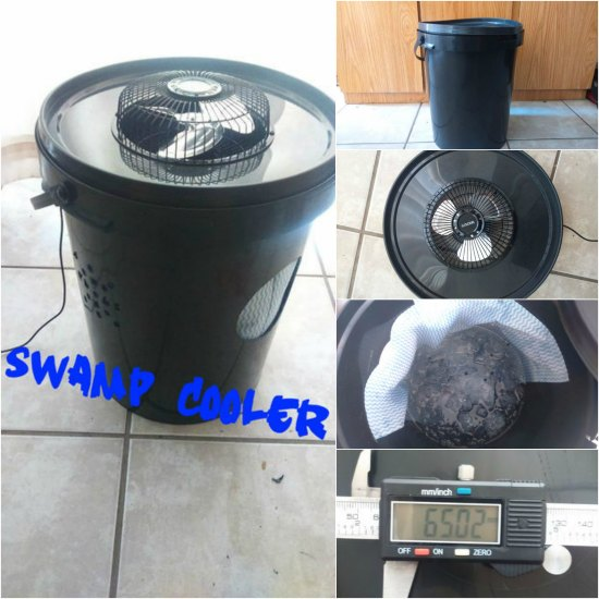 Diy Swamp Cooler To Keep Cool In Hot Weather