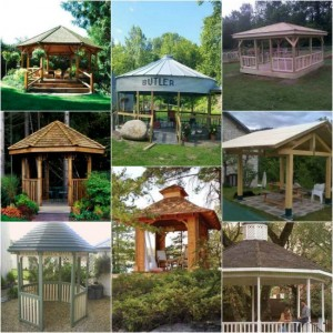 12 DIY Gazebo Designs And Ideas