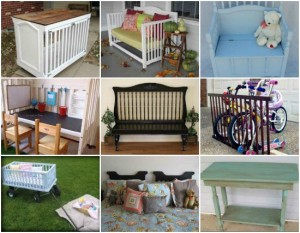 19 Genius Ways To Repurpose Old Cribs