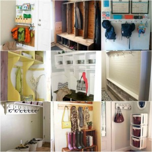 12 DIY Mudroom Designs And Ideas