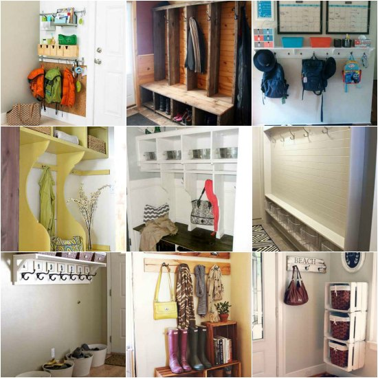 we have complied a list of mudroom designs and ideas you can easily