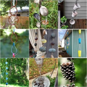 14 DIY Delightful Rain Chain Projects