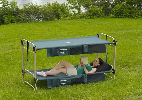 This set of camping cots is just one of many holiday gift ideas.