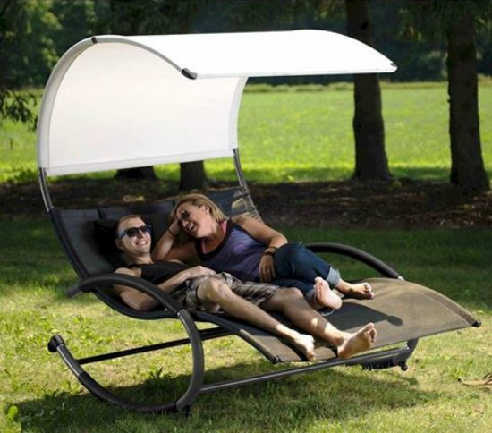 This double chaise rocket is just one of many holiday gift ideas.