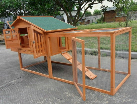 This chicken coop is just one of many holiday gift ideas.