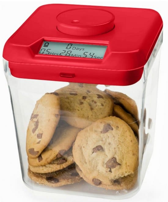 This cookie safe is one of many great holiday gift ideas.