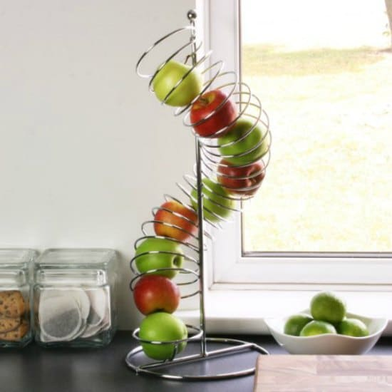 This spiral fruit holder is one of many great holiday gift ideas.