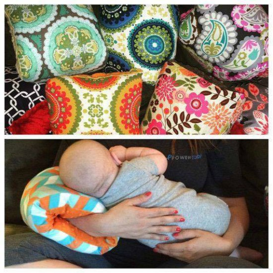This breastfeeding pillow is just one of these many great holiday gift ideas.