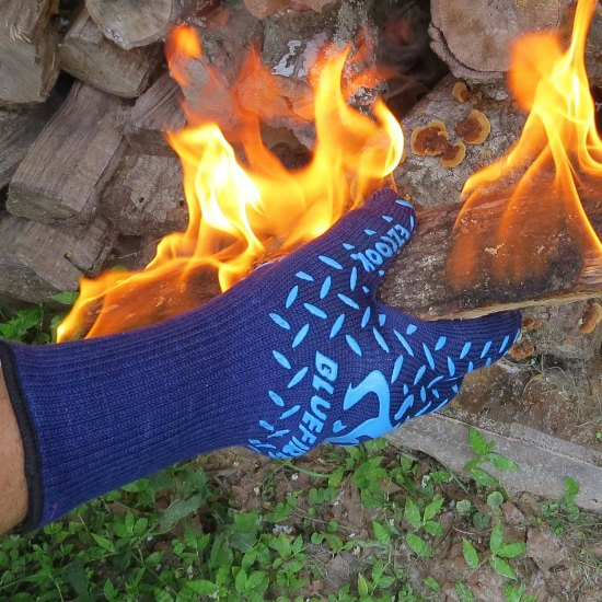 This pair of heat resistant gloves is just one of many holiday gift ideas.