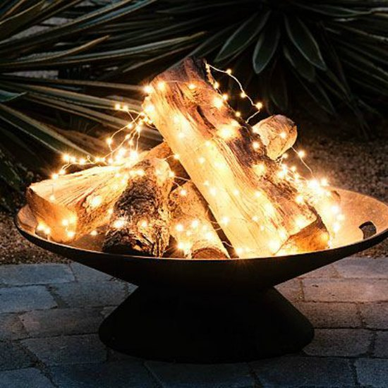 This electric fire pit with lights is just one of many holiday gift ideas.