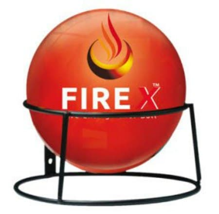 This fire extinguisher ball is one of many great holiday gift ideas.