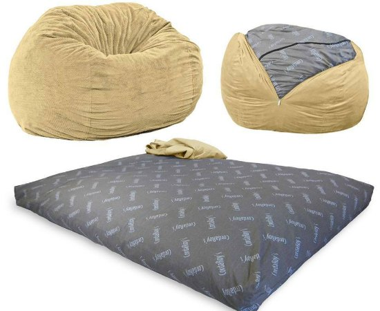 This bean bag full sleeper is just one of many holiday gift ideas.