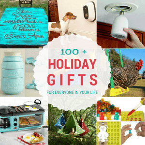 100+ Holiday Gift Ideas (Part 1)