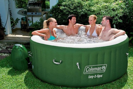 This inflatable hot tub is just one of many holiday gift ideas.