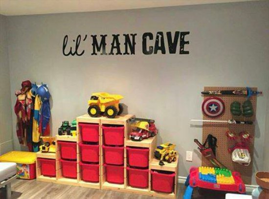 This lil' man wall decal is just one of many holiday gift ideas.