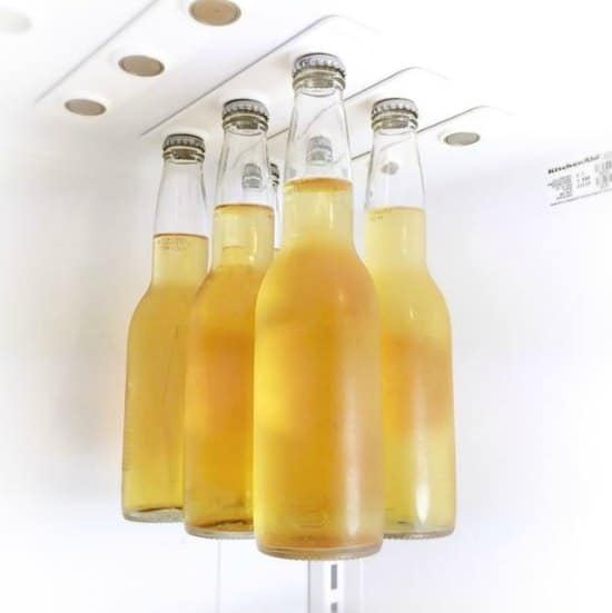 This magnetic bottle hanger is one of many great holiday gift ideas.