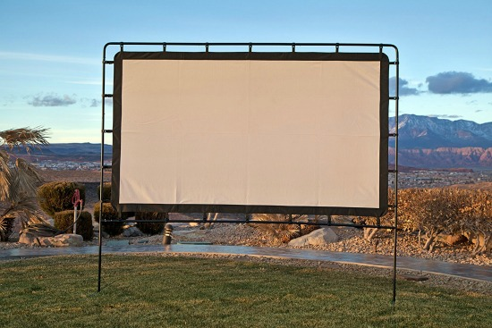 This portable projector screen is just one of many holiday gift ideas.