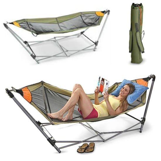 This portable hammock is just one of many holiday gift ideas.