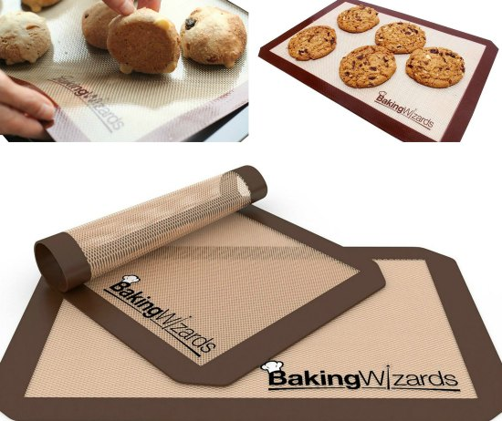 This set of silicone baking mats is one of many great holiday gift ideas.