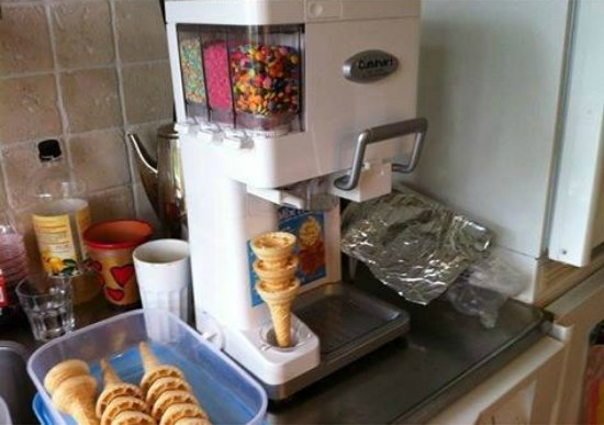 This soft serve ice cream machine is one of many great holiday gift ideas.