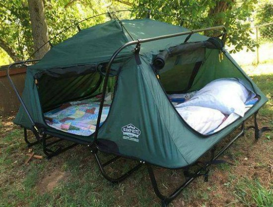 This cot tent is just one of many holiday gift ideas.