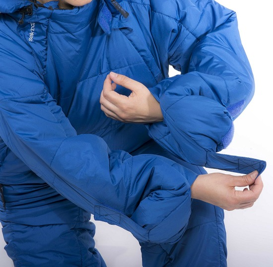 This wearable sleeping bag is just one of many holiday gift ideas.